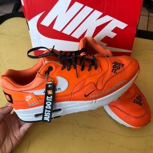 Nike Air Force 1 neon orange size pink 10.5 (mens)